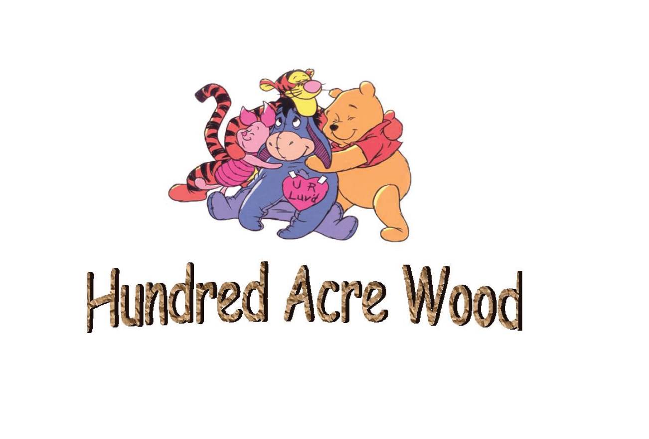 100 acre wood creche logo